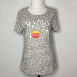 Old Navy Happy Hour Sunset Graphic Print Tee